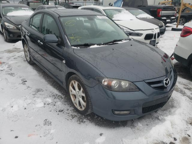 Salvage cars for sale from Copart Courtice, ON: 2009 Mazda 3 S