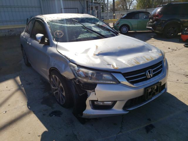 Salvage cars for sale from Copart Corpus Christi, TX: 2015 Honda Accord Sport