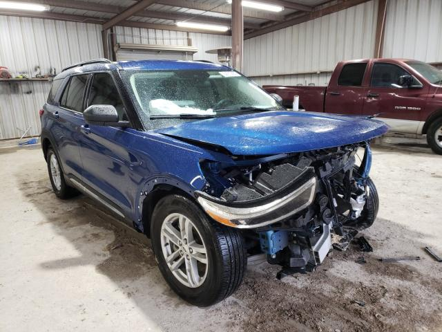 Salvage cars for sale from Copart Temple, TX: 2020 Ford Explorer X
