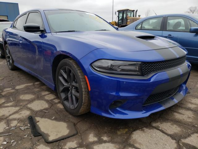 Salvage cars for sale from Copart Woodhaven, MI: 2019 Dodge Charger R