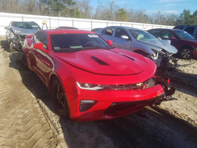 Salvage cars for sale from Copart Gaston, SC: 2017 Chevrolet Camaro SS