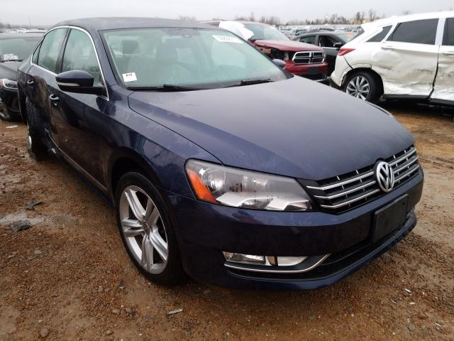 Volkswagen salvage cars for sale: 2014 Volkswagen Passat SEL