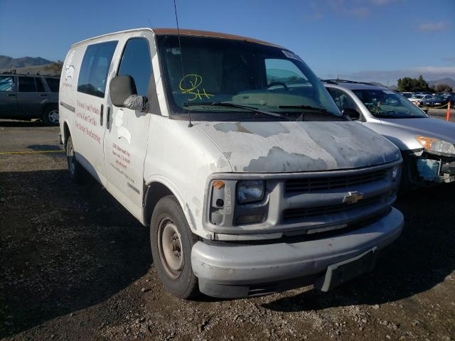 Salvage cars for sale from Copart San Martin, CA: 1999 Chevrolet Express G2