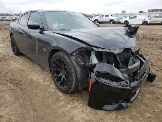 Salvage cars for sale from Copart Fresno, CA: 2017 Dodge Charger R
