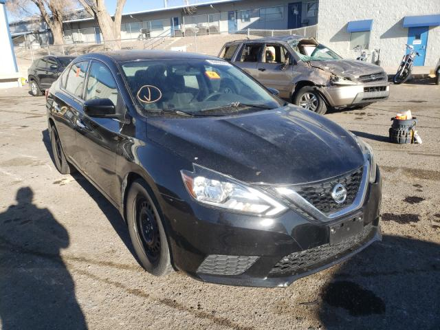 Salvage cars for sale from Copart Albuquerque, NM: 2017 Nissan Sentra S