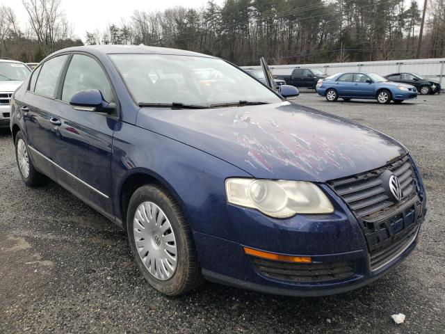 Salvage cars for sale from Copart Fredericksburg, VA: 2007 Volkswagen Passat
