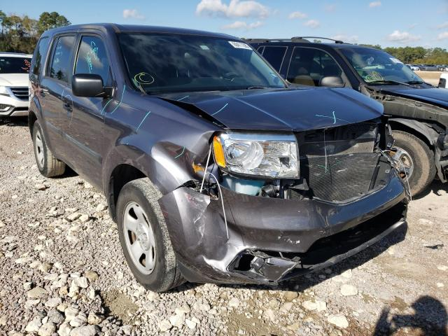 Honda Pilot LX salvage cars for sale: 2014 Honda Pilot LX