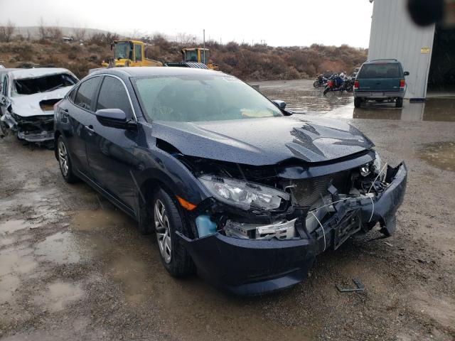 Honda salvage cars for sale: 2017 Honda Civic LX