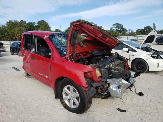 Salvage cars for sale from Copart Fort Pierce, FL: 2008 Nissan Titan XE