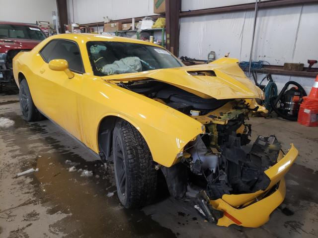 Salvage cars for sale from Copart Nisku, AB: 2017 Dodge Challenger