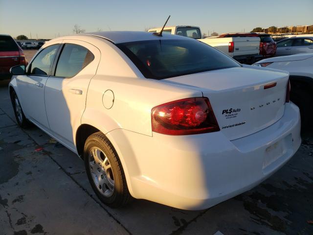 купить 2012 Dodge Avenger 2.4L 1C3CDZCBXCN237108