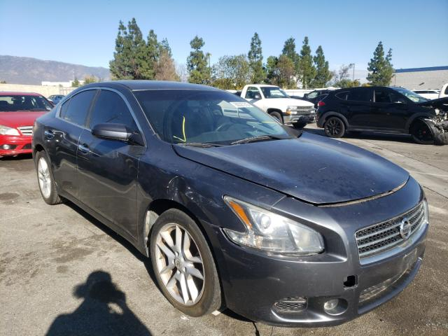 Salvage cars for sale from Copart Rancho Cucamonga, CA: 2009 Nissan Maxima S