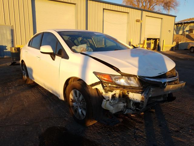 Salvage cars for sale from Copart Albuquerque, NM: 2012 Honda Civic LX