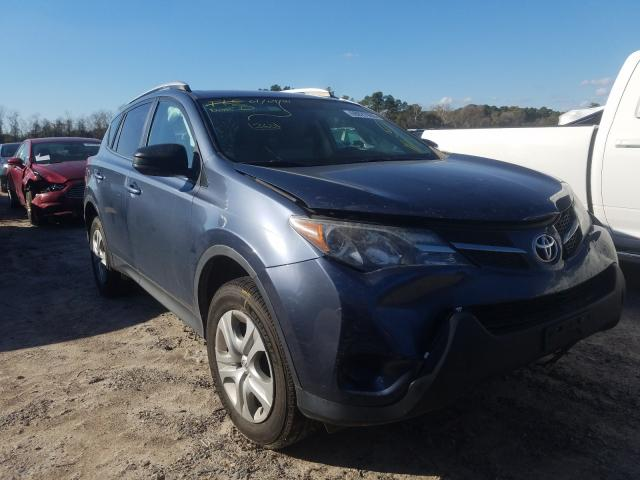 Salvage cars for sale from Copart Houston, TX: 2014 Toyota Rav4 LE
