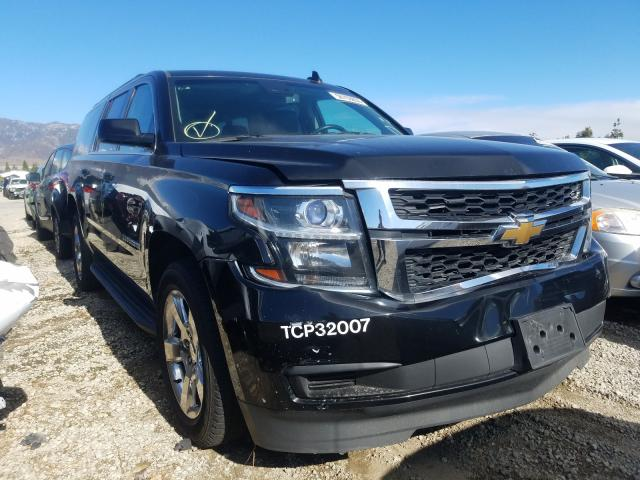 Salvage cars for sale from Copart Rancho Cucamonga, CA: 2017 Chevrolet Suburban C