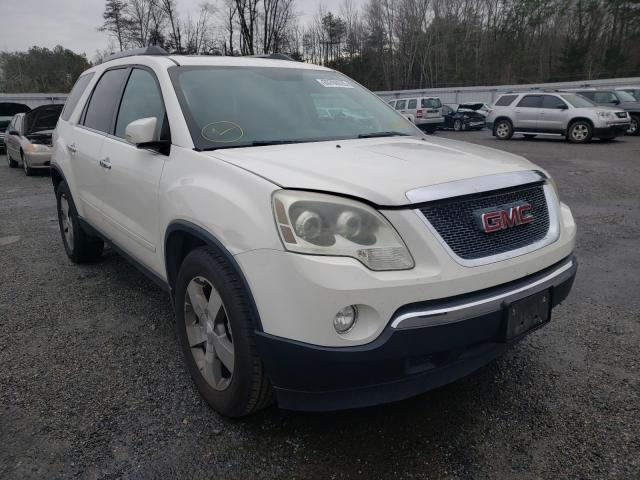 Salvage cars for sale from Copart Fredericksburg, VA: 2011 GMC Acadia SLT