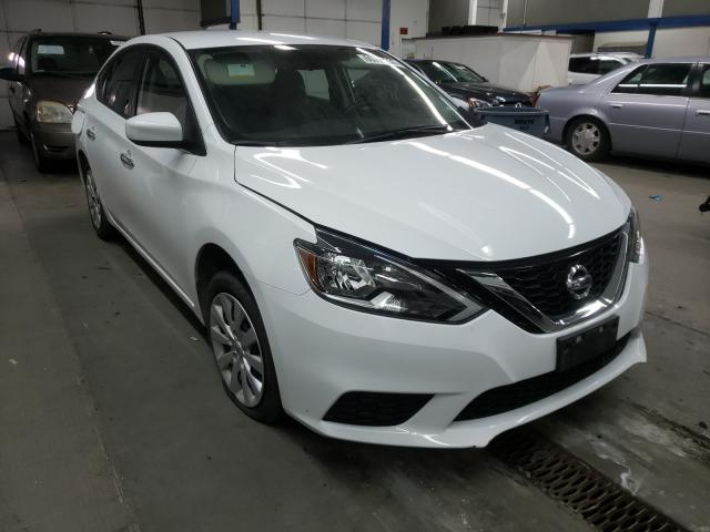 Salvage cars for sale from Copart Pasco, WA: 2019 Nissan Sentra S