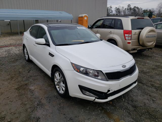 Salvage cars for sale from Copart Spartanburg, SC: 2011 KIA Optima EX