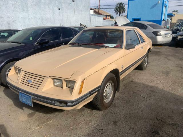 FORD MUSTANG 1984 1