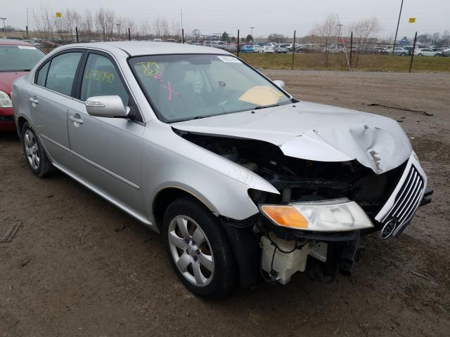 Salvage cars for sale from Copart Indianapolis, IN: 2009 KIA Optima LX
