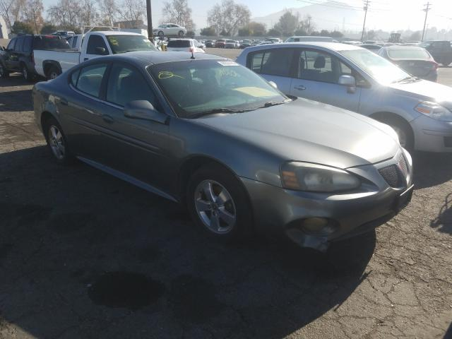 Salvage cars for sale from Copart Colton, CA: 2005 Pontiac Grand Prix