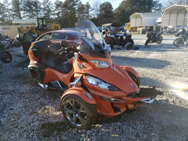 Salvage cars for sale from Copart Ellenwood, GA: 2019 Can-Am Spyder ROA