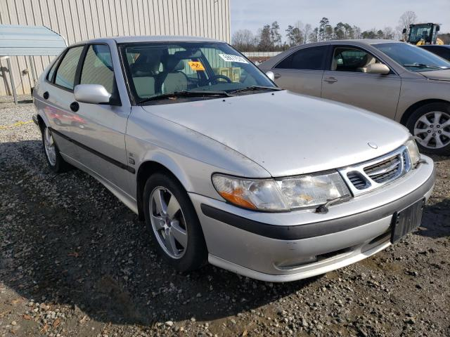 Saab salvage cars for sale: 2002 Saab 9-3 SE