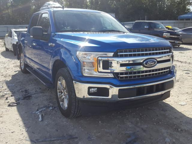 Salvage cars for sale from Copart Midway, FL: 2019 Ford F150 Super