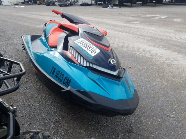 Salvage cars for sale from Copart Lebanon, TN: 2019 Seadoo Wake 155