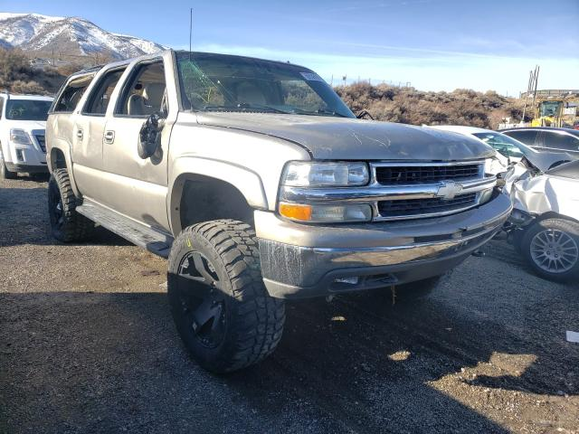 Salvage cars for sale from Copart Reno, NV: 2002 Chevrolet Suburban K