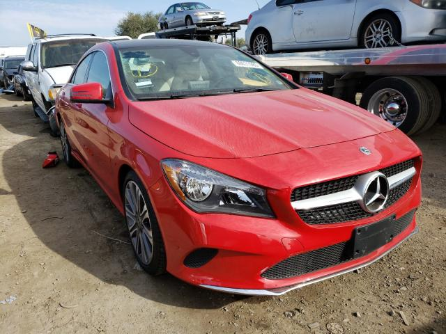 Mercedes-Benz salvage cars for sale: 2018 Mercedes-Benz CLA 250