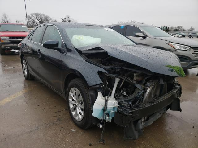 Salvage cars for sale from Copart Wilmer, TX: 2017 Toyota Camry LE