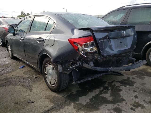 купить 2012 Honda Civic Hf 1.8L 2HGFB2F60CH553356