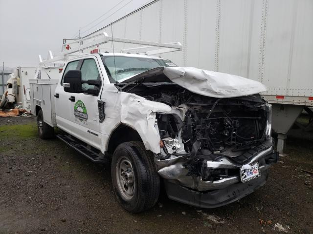 Salvage cars for sale from Copart Eugene, OR: 2020 Ford F350 Super