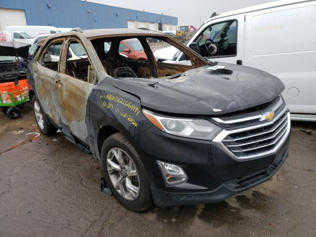 Salvage cars for sale from Copart Woodhaven, MI: 2020 Chevrolet Equinox PR