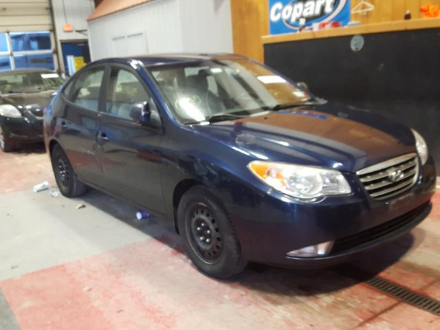 Salvage cars for sale from Copart Angola, NY: 2009 Hyundai Elantra