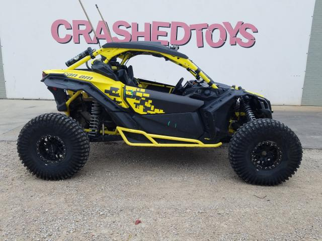 Salvage cars for sale from Copart Dallas, TX: 2019 Can-Am Maverick X