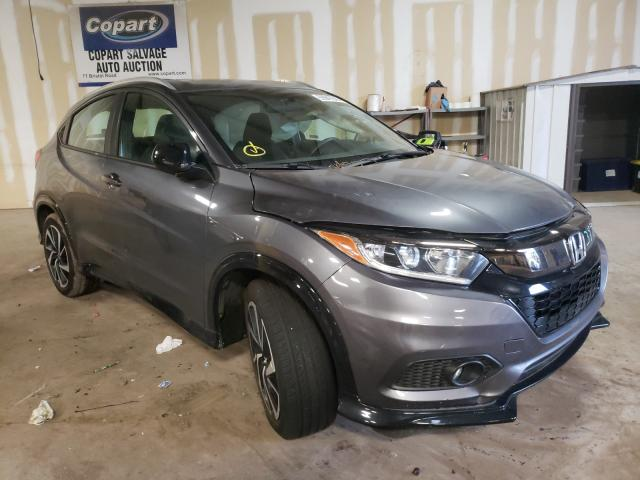 Salvage cars for sale from Copart Pennsburg, PA: 2019 Honda HR-V Sport
