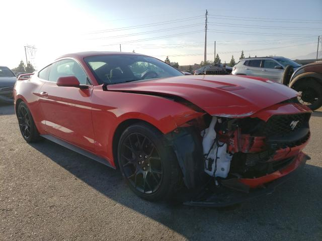 Salvage cars for sale from Copart Rancho Cucamonga, CA: 2019 Ford Mustang