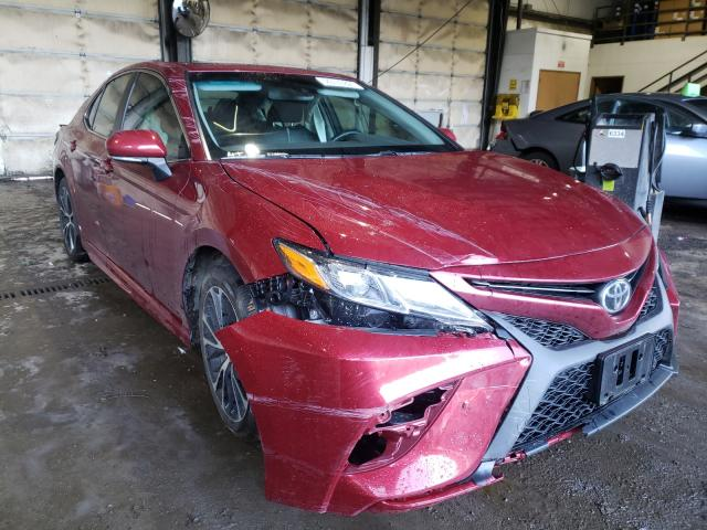 Salvage cars for sale from Copart Graham, WA: 2018 Toyota Camry L