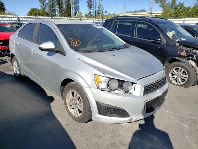 Salvage 2012 CHEVROLET SONIC - Small image. Lot 29717731