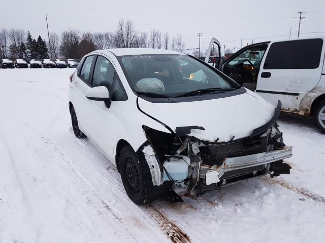 Salvage cars for sale from Copart Bowmanville, ON: 2015 Honda FIT LX
