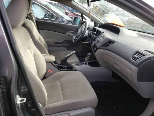 пригнать из сша 2012 Honda Civic Hf 1.8L 2HGFB2F60CH553356