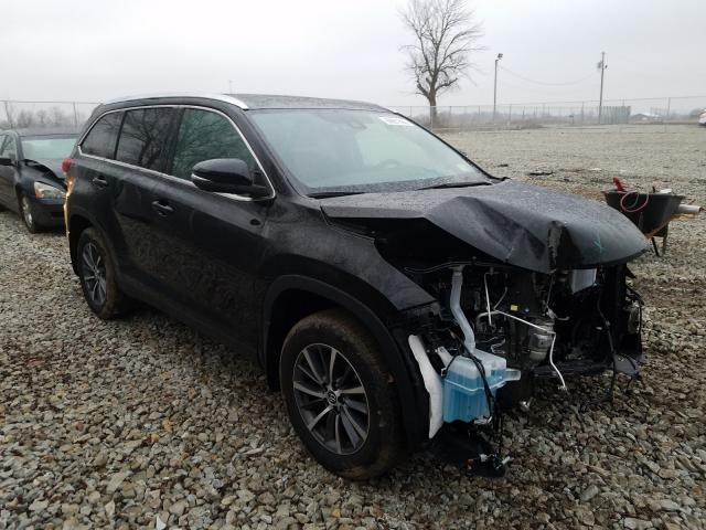 Salvage cars for sale from Copart Cicero, IN: 2019 Toyota Highlander