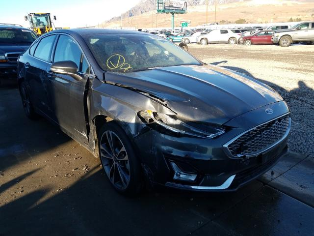 Salvage cars for sale from Copart Farr West, UT: 2020 Ford Fusion Titanium