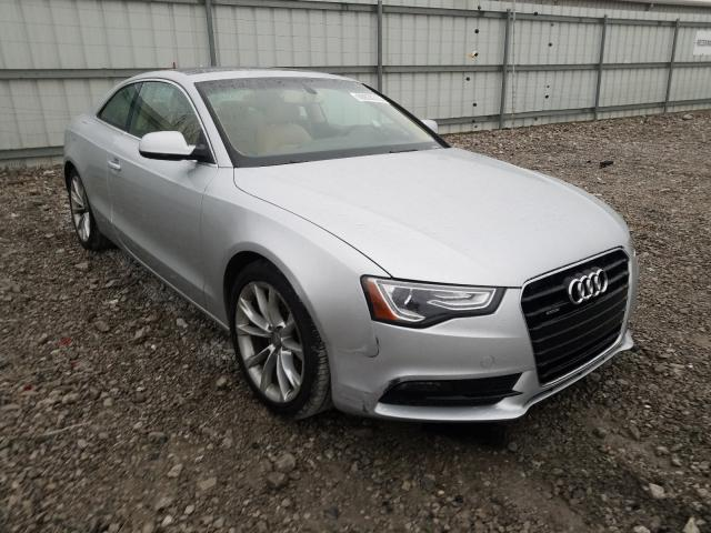 Salvage cars for sale from Copart Walton, KY: 2013 Audi A5 Premium