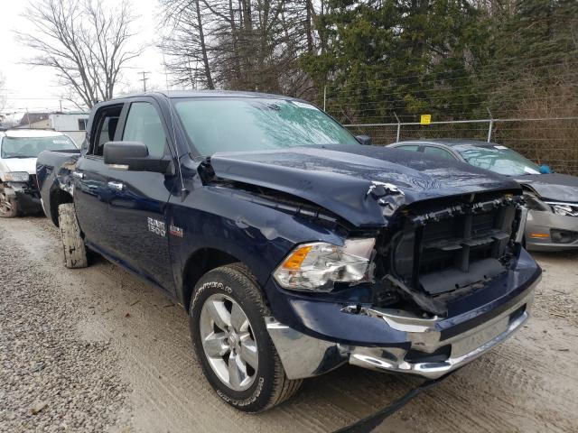 Salvage cars for sale from Copart Northfield, OH: 2018 Dodge RAM 1500 SLT