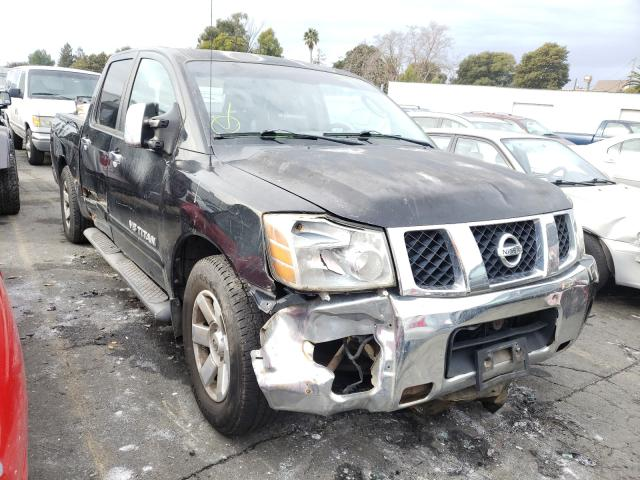 Salvage cars for sale from Copart Vallejo, CA: 2005 Nissan Titan XE