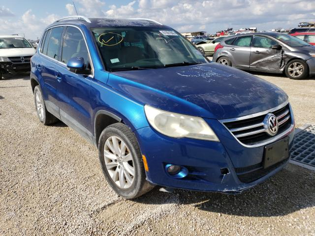 Salvage cars for sale from Copart San Antonio, TX: 2009 Volkswagen Tiguan S