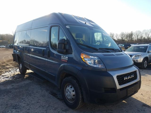 Salvage cars for sale from Copart Chalfont, PA: 2019 Dodge RAM Promaster